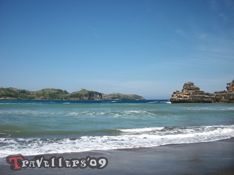 Pantai Serit Blitar, Keindahan Ujung Barat Teluk Serang 1