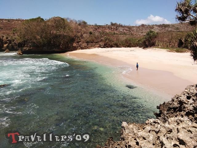 Pantai Selok Dadap di Barat Pantai Pudak Blitar 5
