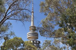 Telstra Tower in Canberra