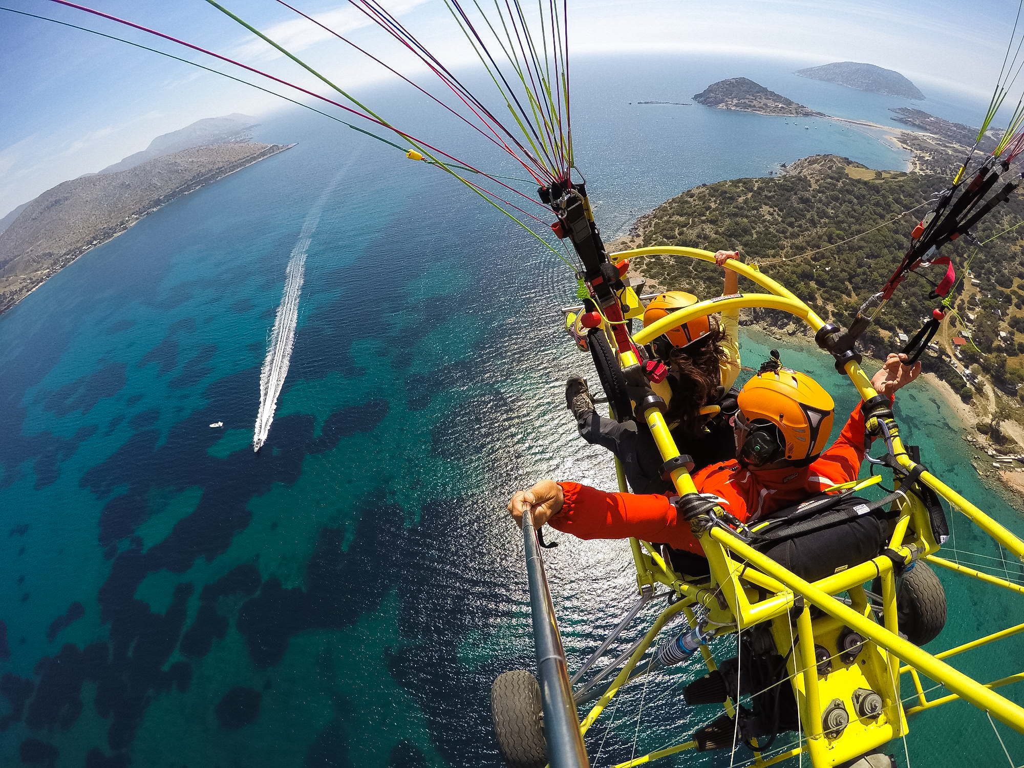 Super Διαγωνισμός! Μια Δωρεάν πτήση μοναδικής εμπειρίας με μηχανοκίνητο αλεξίπτωτου πλαγιάς (para-trike)! (Updated – Winner)