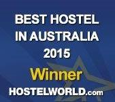 2015 Hostelworld Award