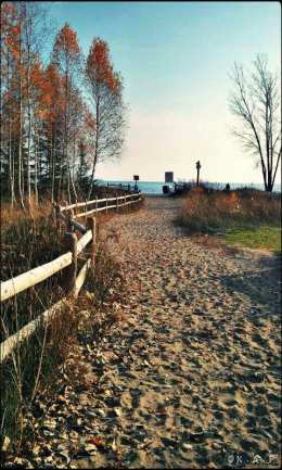 path, path to the beach, sand,outdoors, Ward's Island, Toronto, Ontario, Canada,