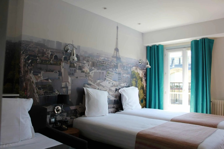 Hotel Stella Etoile in central Paris