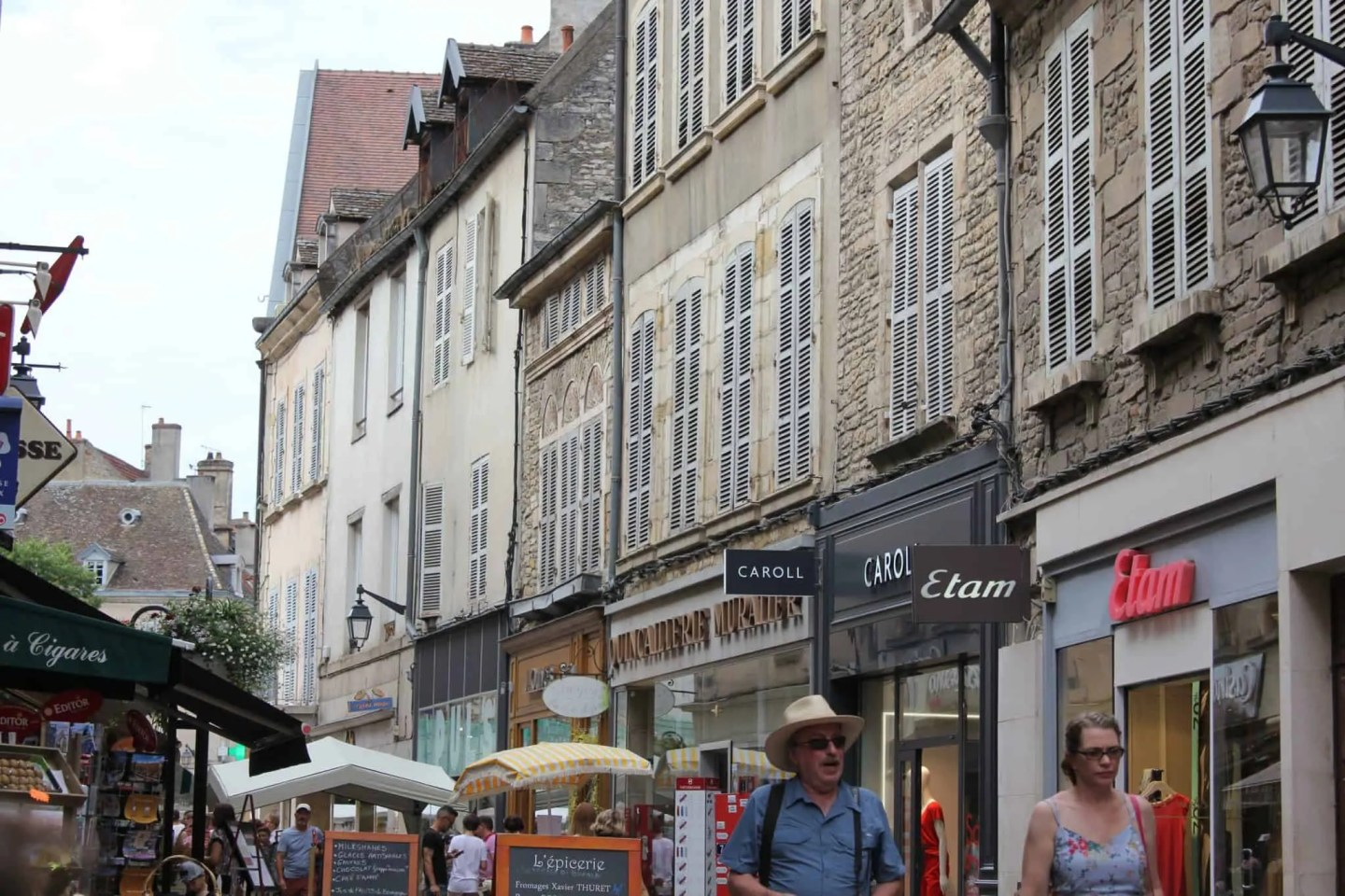 Beaune, France - the wine capital of Burgundy, things to do and see in and around beaune france, main street of Beaune