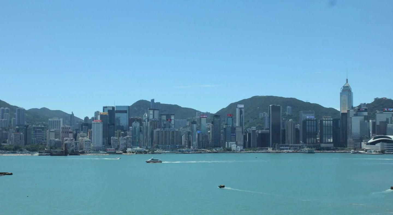 Hong Kong Island skyline, Victoria Harbor, 3 days in Hong Kong itinerary, Hong Kong long weekend, things to do in Hong Kong for 3 days