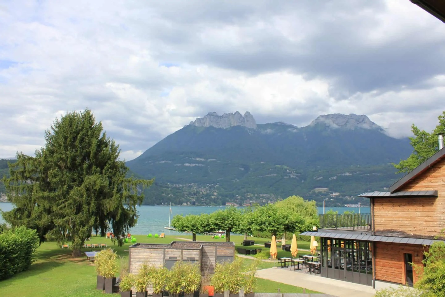 Hotel view Lake Annecy