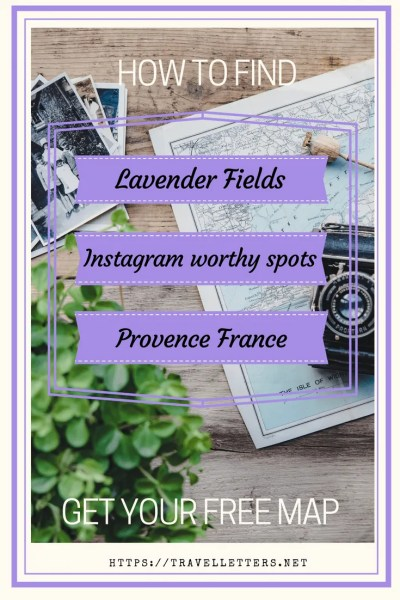Lavender Fields France Map.Lavender Fields In France Valensole Plateau In Provence