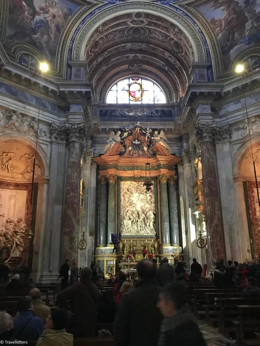 the church of Sant Agnese in Agone in Rome, vthings to do in Rome, St. Peter's Square, St. Peter's Dome in Rome, visit Rome in winter, Rome in winter, winter in Rome, Vatican city, 2-3 days Rome itinerary