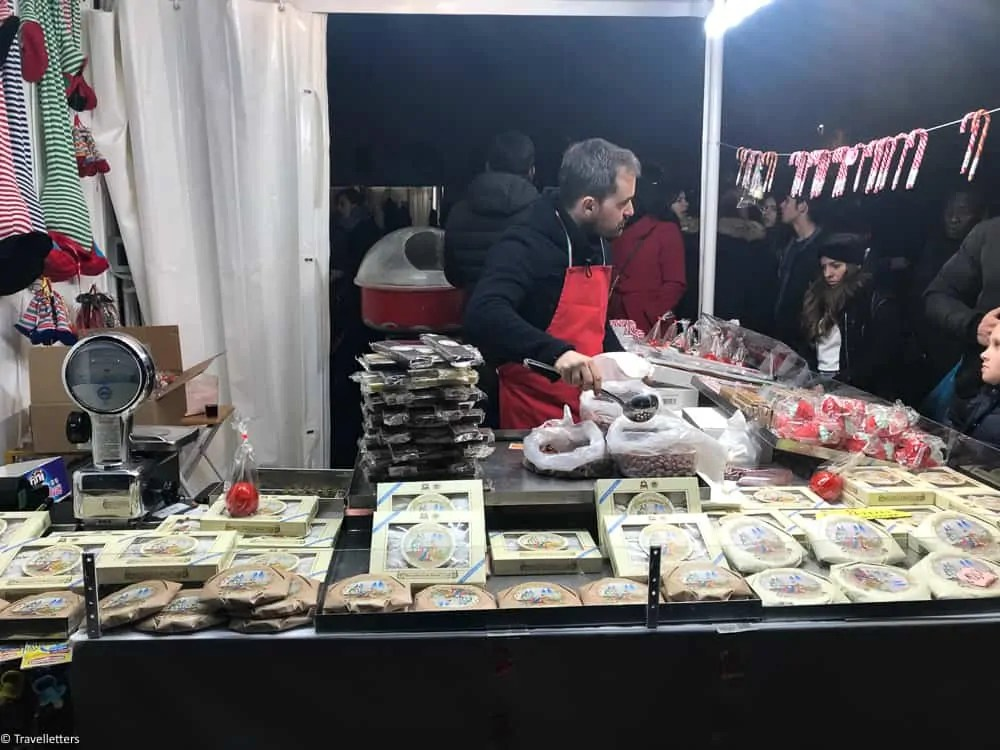 Christmas market on Piazza Navona in Rome