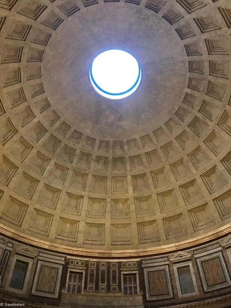 Oculus at Pantheon in Rome