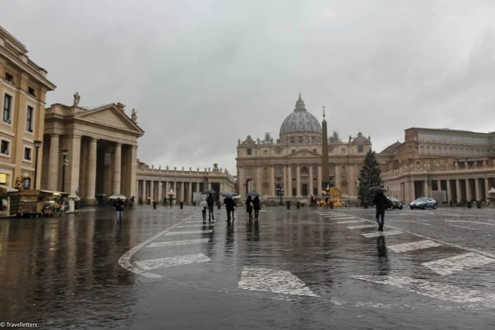 The Vatican City, St. peter's Basilica and St. Peter's Square
