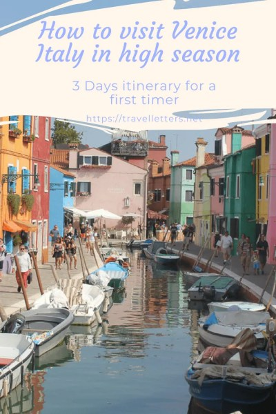 How to visit and avoid the largest crowds in Venice Italy during high season