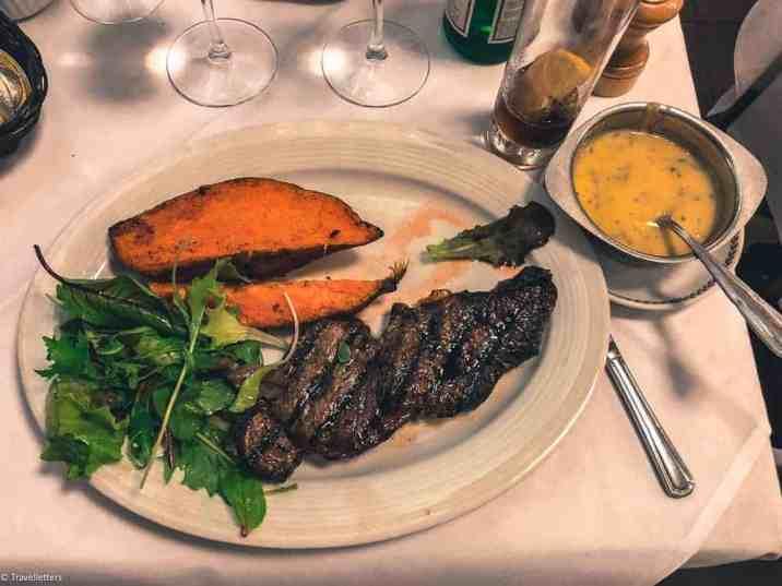 Grillmiddag på restaurant Vincent i Brussel