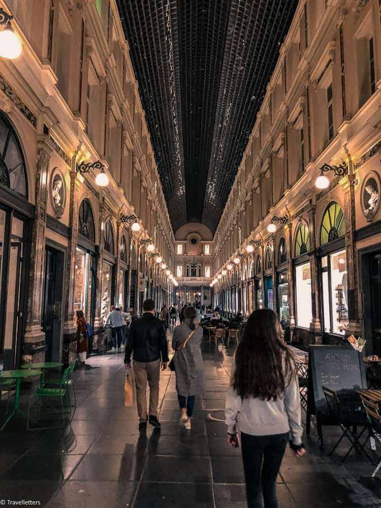 Galeries Royales Saint-Huberti Brussel