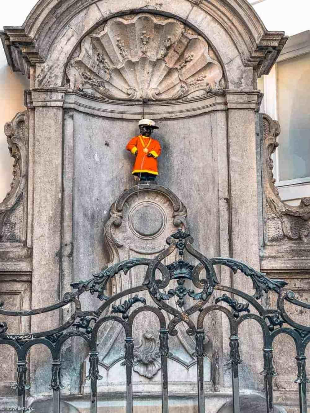 Manneken Pis i Brussel, Storbyferie i Europa, weekendtur til Brussel, høst destinasjon, beste storby for weekendtur i oktober, ting å gjøre i Brussel, jentetur til Brussel, kjærestetur til Brussel