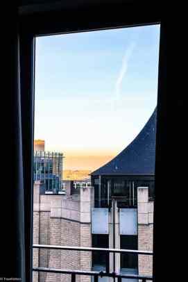 Utsikten fra rommet på Hotel9 Central