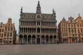 Brussels city museum på Grand Place