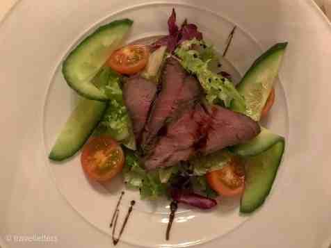 Middag på Radisson Blu Mountain Resort Beitostølen