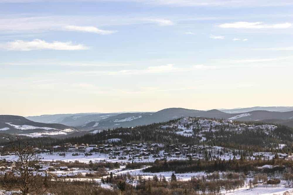 Norway in winter, Beitostølen ski resort Norway