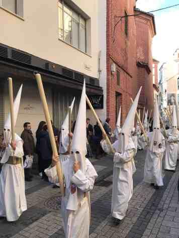 Processions in Malaga during Semana Santa, the Holy Week