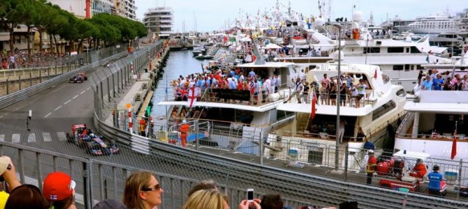 Postcards from Monaco Grand Prix