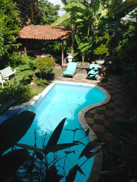 The pool at Pousada do Amparo