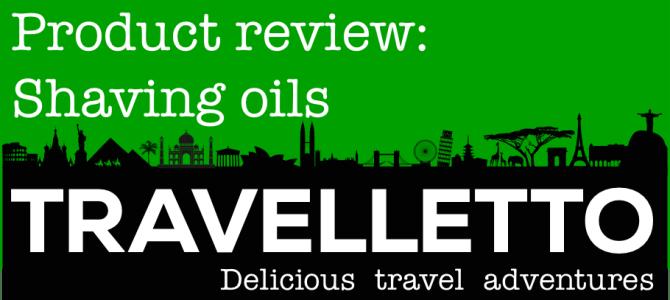 Packing Tips – shaving oil