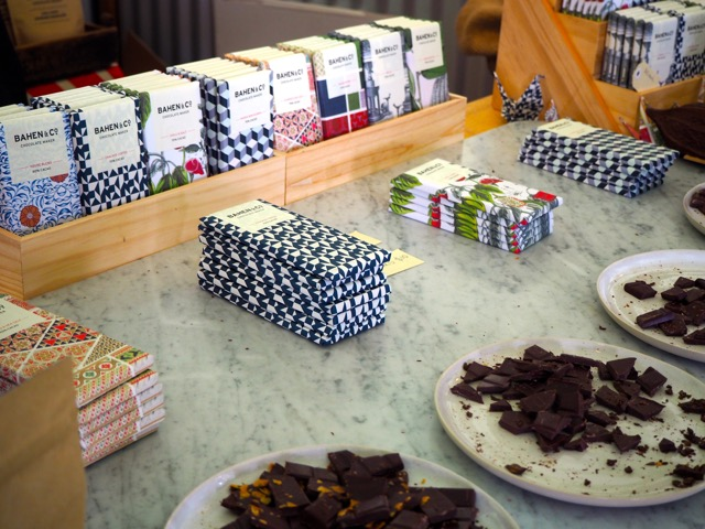 Bahen Chocolate - the unflavoured variety has just two ingredients, cacao and sugar