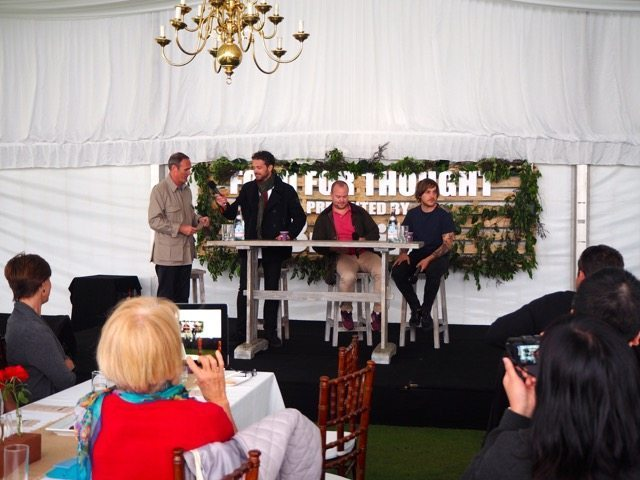 Food for Thought Session - Farm Graze Forage with AA Gill (MC), chefs  Jock Zonfrillo, Daniel Berlin & Matt Stone