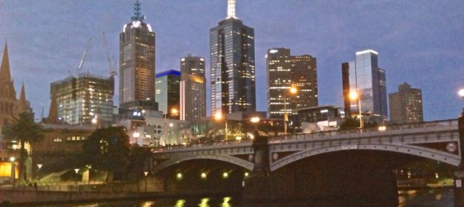 Melbourne…and packing