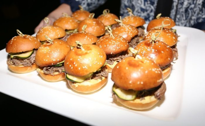 Lamb sliders. Photo credit Stu Williams