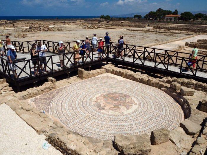 Kato Pafos Archeological Site
