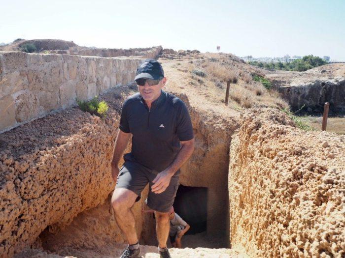 King's Tombs, Paphos, Cyprus