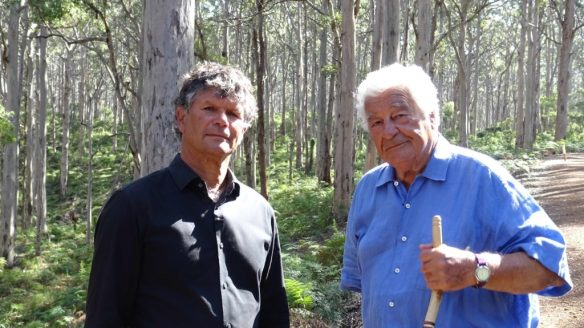 Antonio and Richard in Boranup Forest low res
