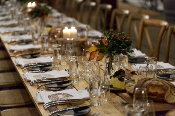Truffle Kerfuffle Long Table Dining.