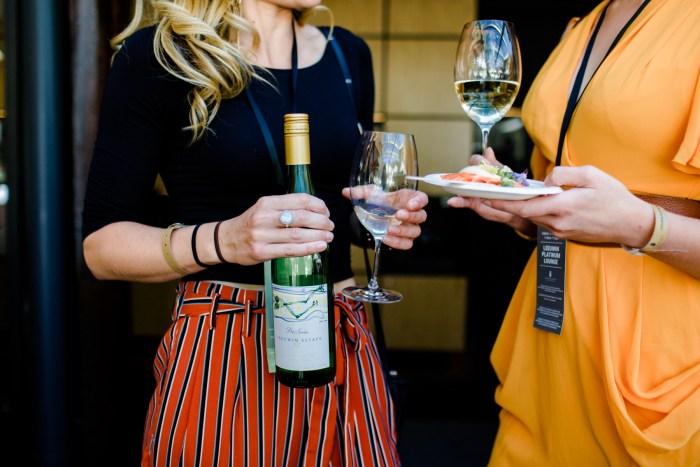Wine gourmet village