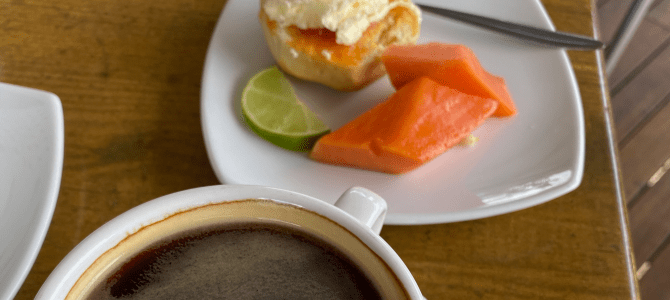 Coffee and Papaya – a match made in heaven