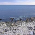 Новогоднее море в Крыму