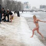 Крещение (Водохреща) в Киеве