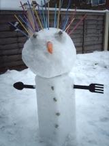 снеговик Стрельца
