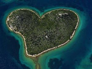 Остров Любви в Хорватии