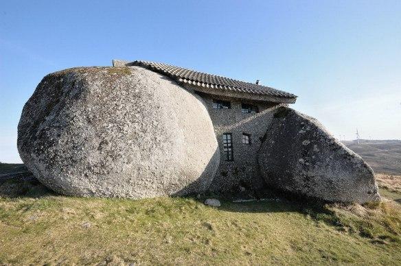 Каменный дом в Гимараеш, Португалия.