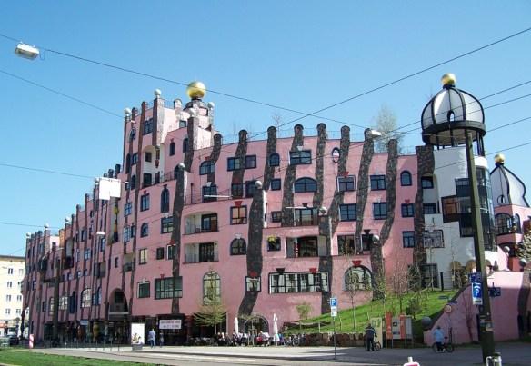 Зёленая цитадель Магдебурга, Германия