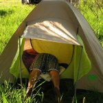 Где отдохнуть с палатками на Десне?