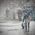 Мартовская непогода 2013 года (в Киеве — снег, в Сочи — шторм)
