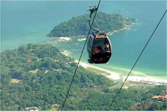 канатная дорога Малайзия