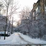 ЗИМА — красивые фото. Киев, Нивки — Сырец в снегу