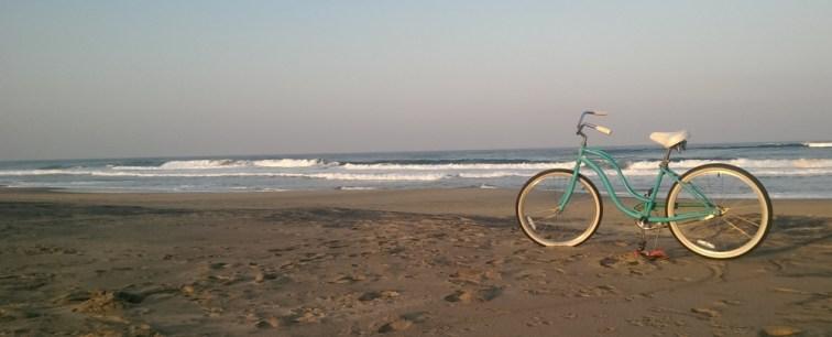 Monica's bike...