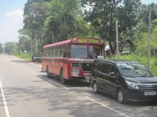 Old Bus at Sri Lanka