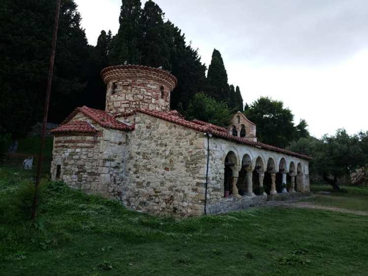 Zvërnec klooster, Albanie